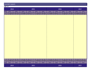 Milestones Professional 2012 Version | Schedules Display Guidelines (SDG) example #1