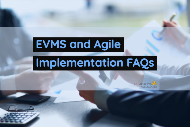 Title Image - EVMS and Agile Implementation FAQs
