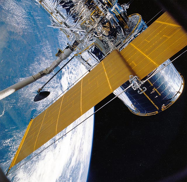Satellite in Earth Orbit