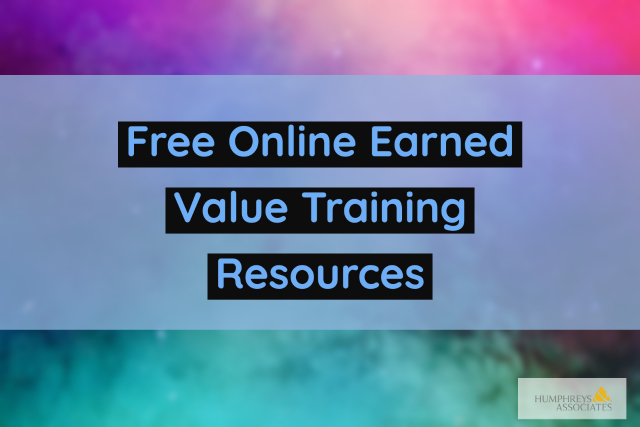 Free Online Earned Value Training Resources