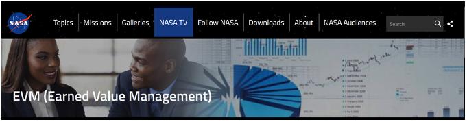 NASA EVM Menu