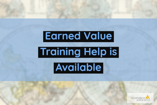 Earned Value Training Help is Available